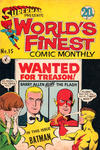 Cover for Superman Presents World's Finest Comic Monthly (K. G. Murray, 1965 series) #15