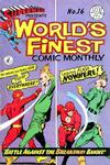 Cover for Superman Presents World's Finest Comic Monthly (K. G. Murray, 1965 series) #16