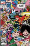 Cover for Bill & Ted's Excellent Comic Book (Marvel, 1991 series) #10