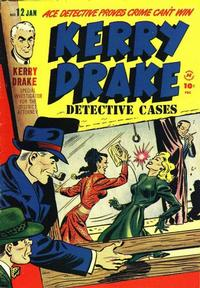 Cover Thumbnail for Kerry Drake Detective Cases (Harvey, 1948 series) #12