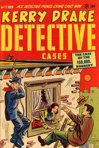 Cover Thumbnail for Kerry Drake Detective Cases (Harvey, 1948 series) #17