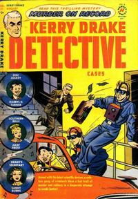 Cover for Kerry Drake Detective Cases (Harvey, 1948 series) #21