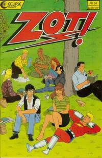 Cover Thumbnail for Zot! (Eclipse, 1984 series) #34