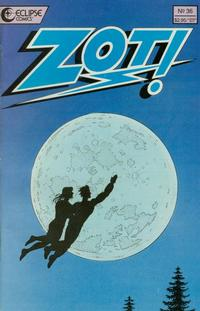 Cover Thumbnail for Zot! (Eclipse, 1984 series) #36