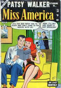 Cover Thumbnail for Miss America (Marvel, 1953 series) #55