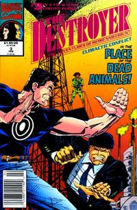 Cover Thumbnail for The Destroyer (Marvel, 1991 series) #3