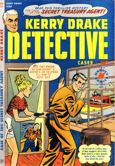 Cover for Kerry Drake Detective Cases (Harvey, 1948 series) #20