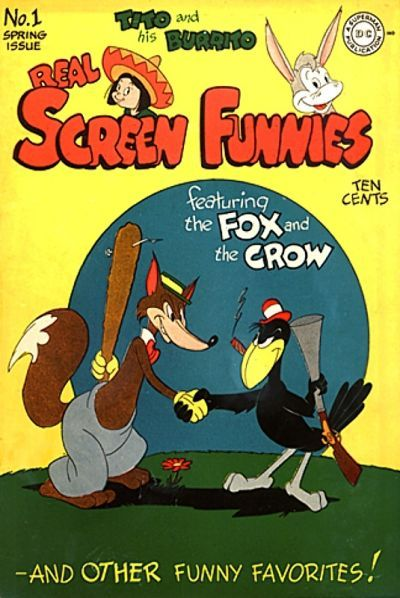Cover for Real Screen Funnies (1945 series) #1