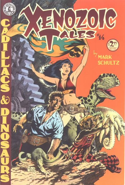 Cover for Xenozoic Tales (1987 series) #14