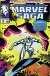 Cover for The Marvel Saga the Official History of the Marvel Universe (Marvel, 1985 series) #25