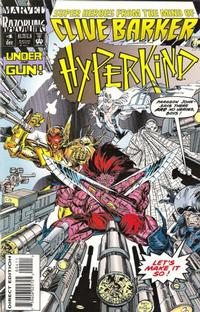 Cover for Hyperkind (Marvel, 1993 series) #4