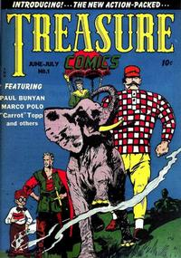 Cover Thumbnail for Treasure Comics (Prize, 1945 series) #1