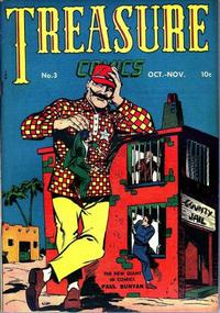 Cover Thumbnail for Treasure Comics (Prize, 1945 series) #3