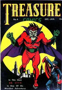Cover Thumbnail for Treasure Comics (Prize, 1945 series) #4