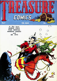 Cover Thumbnail for Treasure Comics (Prize, 1945 series) #5