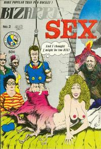 Cover Thumbnail for Bizarre Sex (Kitchen Sink Press, 1972 series) #2