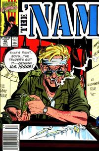 Cover for The 'Nam (Marvel, 1986 series) #46