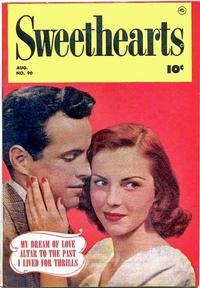 Cover Thumbnail for Sweethearts (Fawcett, 1948 series) #90