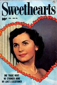 Cover Thumbnail for Sweethearts (Fawcett, 1948 series) #96