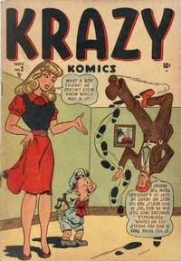 Cover for Krazy Komics (1948 series) #2
