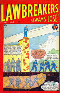 Cover Thumbnail for Lawbreakers Always Lose (Marvel, 1948 series) #8