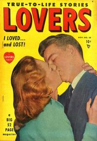 Cover for Lovers (1949 series) #26