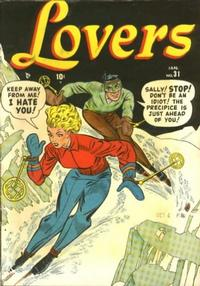 Cover Thumbnail for Lovers (Marvel, 1949 series) #31