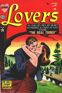 Cover Thumbnail for Lovers (Marvel, 1949 series) #42