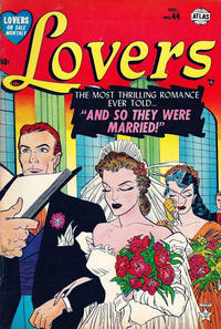 Cover Thumbnail for Lovers (Marvel, 1949 series) #44