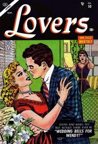 Cover Thumbnail for Lovers (Marvel, 1949 series) #53