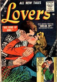 Cover Thumbnail for Lovers (Marvel, 1949 series) #66