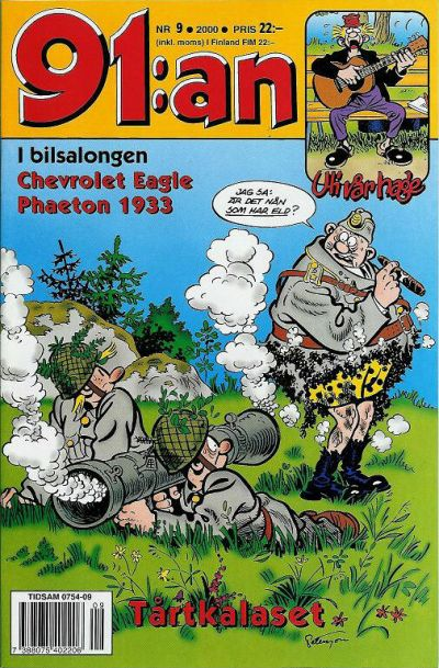 Cover for 91:an (Egmont, 1997 series) #9/2000