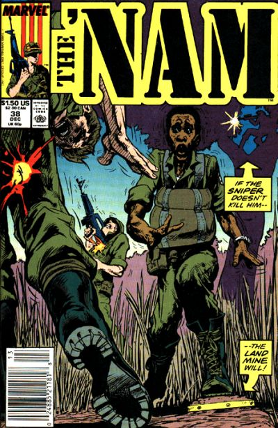 Cover for The 'Nam (Marvel, 1986 series) #38