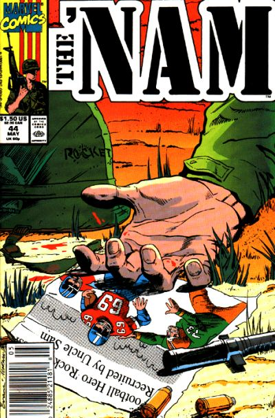 Cover for The 'Nam (Marvel, 1986 series) #44