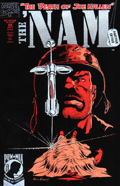 Cover for The 'Nam (Marvel, 1986 series) #58