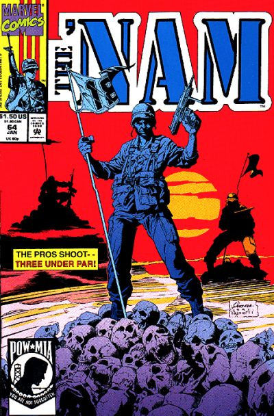 Cover for The 'Nam (Marvel, 1986 series) #64