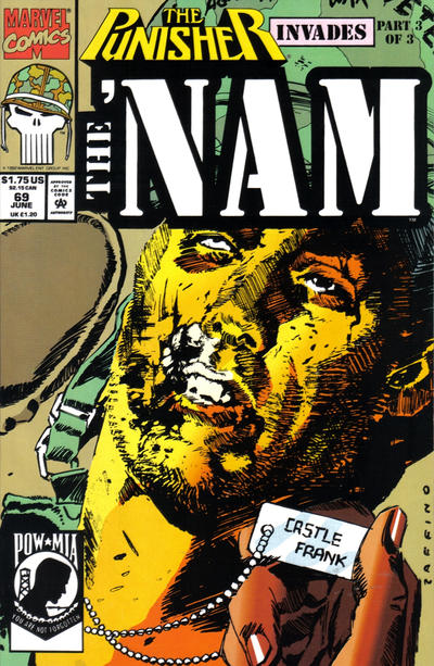Cover for The 'Nam (Marvel, 1986 series) #69