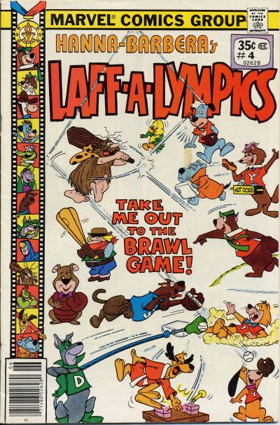Cover for Laff-A-Lympics (Marvel, 1978 series) #4