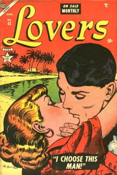 Cover for Lovers (Marvel, 1949 series) #52