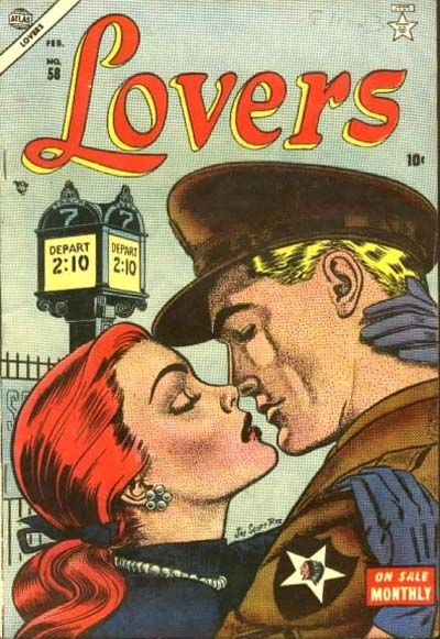 Cover for Lovers (Marvel, 1949 series) #58