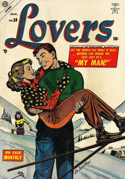 Cover for Lovers (Marvel, 1949 series) #59