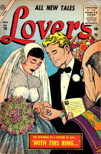 Cover for Lovers (Marvel, 1949 series) #78