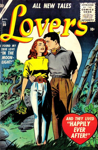 Cover for Lovers (Marvel, 1949 series) #80