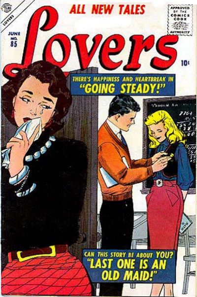 Cover for Lovers (Marvel, 1949 series) #85