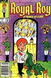 Cover Thumbnail for Royal Roy (1985 series) #1 [Newsstand Edition]