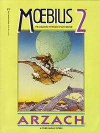 Cover Thumbnail for Moebius (Marvel, 1987 series) #2 - Arzach & Other Fantasy Stories