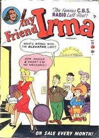 Cover Thumbnail for My Friend Irma (Marvel, 1950 series) #15