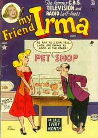 Cover for My Friend Irma (1950 series) #20