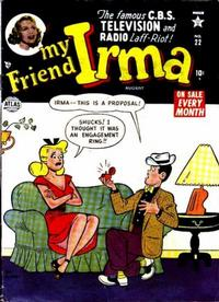 Cover Thumbnail for My Friend Irma (Marvel, 1950 series) #22