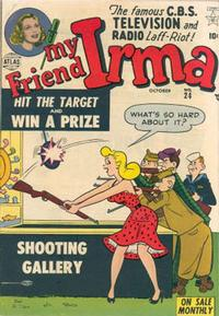Cover Thumbnail for My Friend Irma (Marvel, 1950 series) #24
